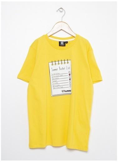 Hummel Tişört Sarı